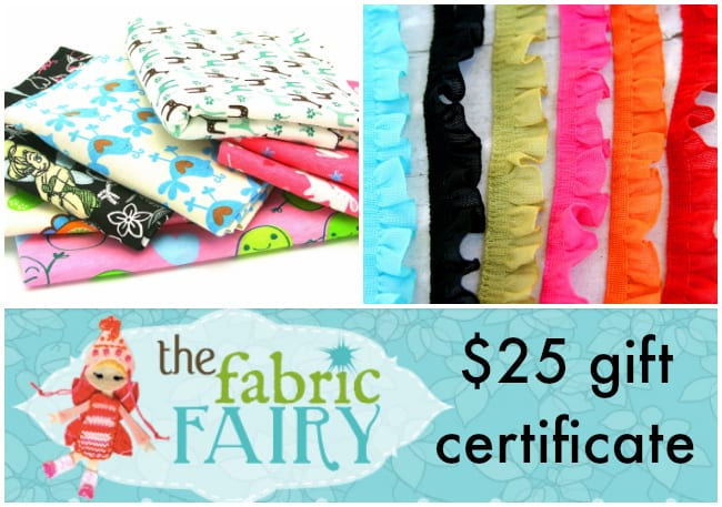 Scarf Week Giveaway - The Fabric Fairy