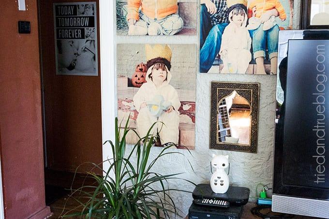Television Gallery Wall - Hallway