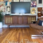 How to Make a Television Gallery Wall
