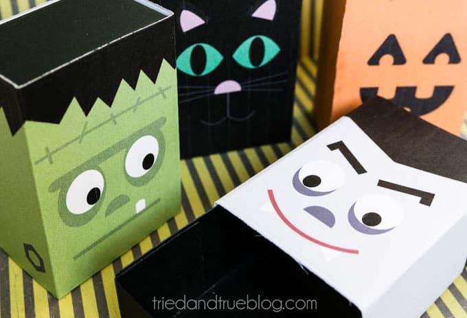 Halloween Treat Boxes - Ready to fill!