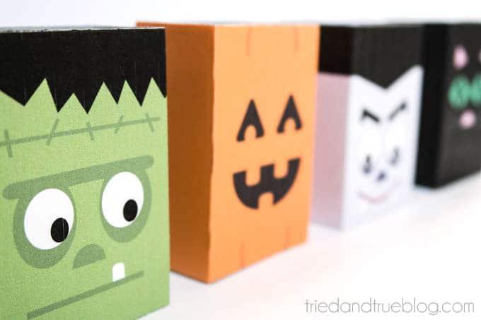 Halloween Treat Boxes - Super cute!