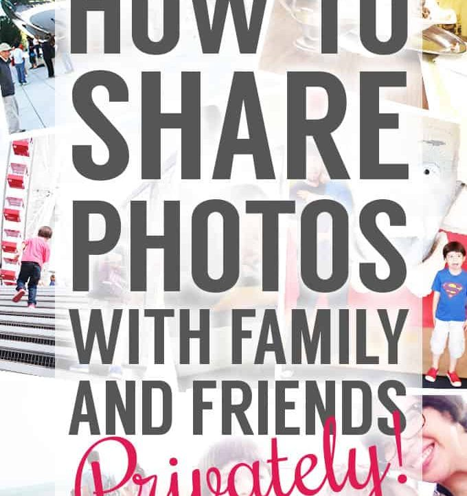 A great way to privately share pictures with family and friends!