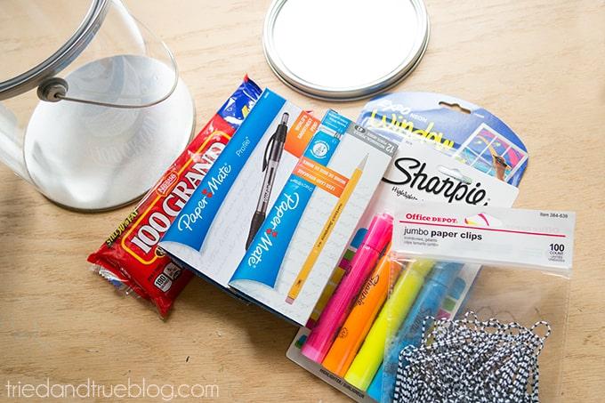 Teacher Survivial Kit - Supplies