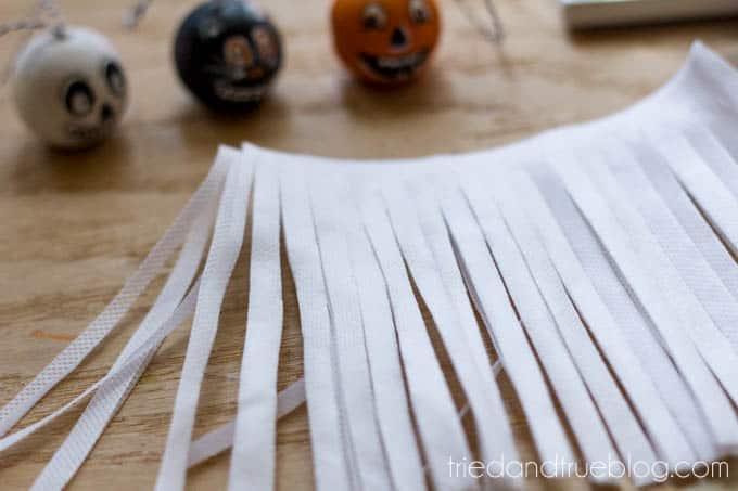 Vintage Halloween Tassels - Fringe