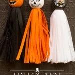 Vintage Halloween Tassels