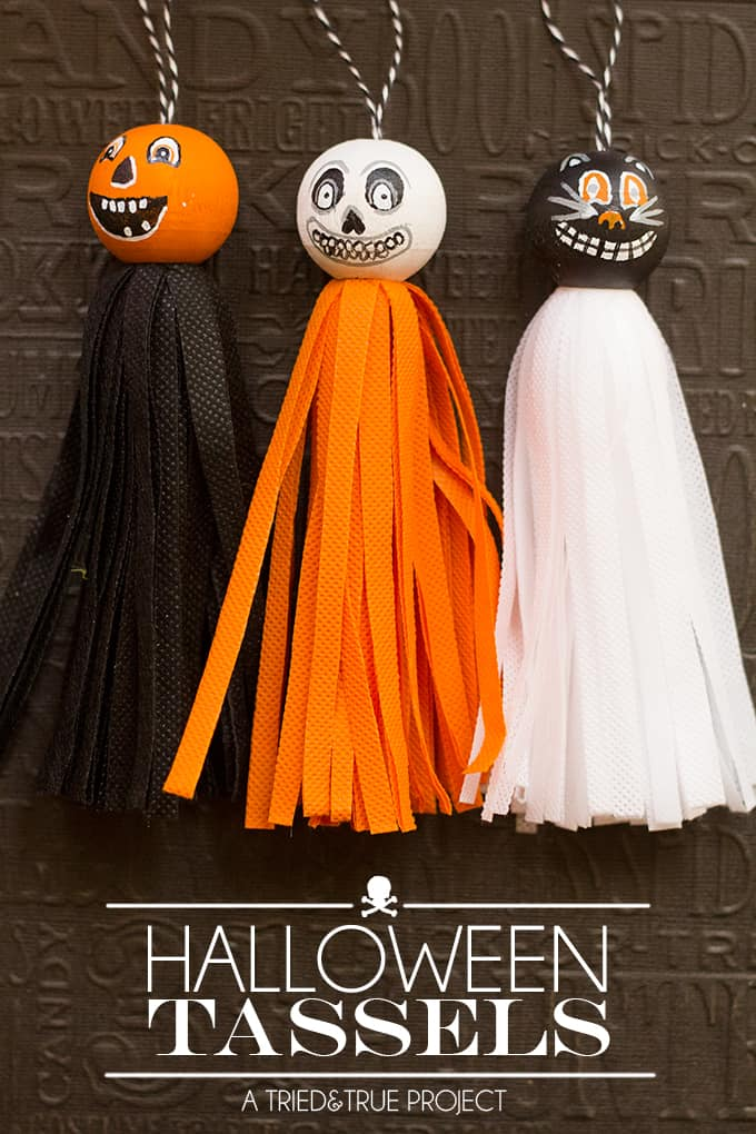 Vintage Halloween Tassels Tried True