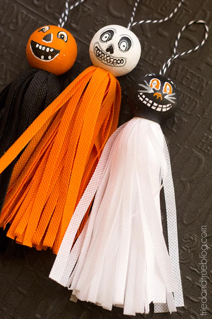 Vintage Halloween Tassels - Make one or all three!