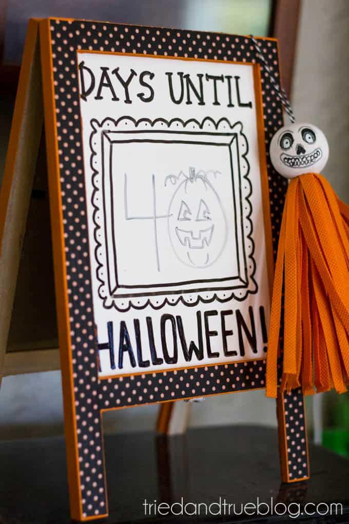 Vintage Halloween Tassels - Perfect little vintage accent!
