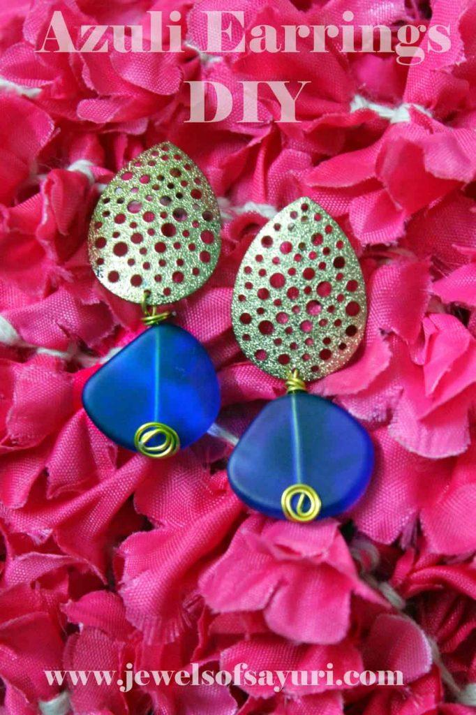 azuli earrings dIY1