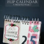Christmas Countdown Flip Calendar
