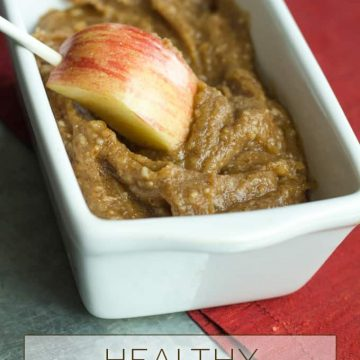 Make this healthy and delicious dessert for the Holidays and all year round! Only four ingredients necessary!