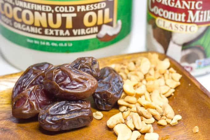 Healthy Caramel Dip - Ingredients