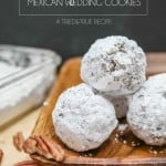Healthy Biscochos (Mexican Wedding Cookies) - Super easy to make and healthy enough for you to eat a few!