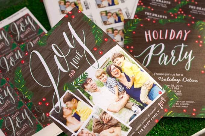 Reusable Holiday Cards - Coordinating