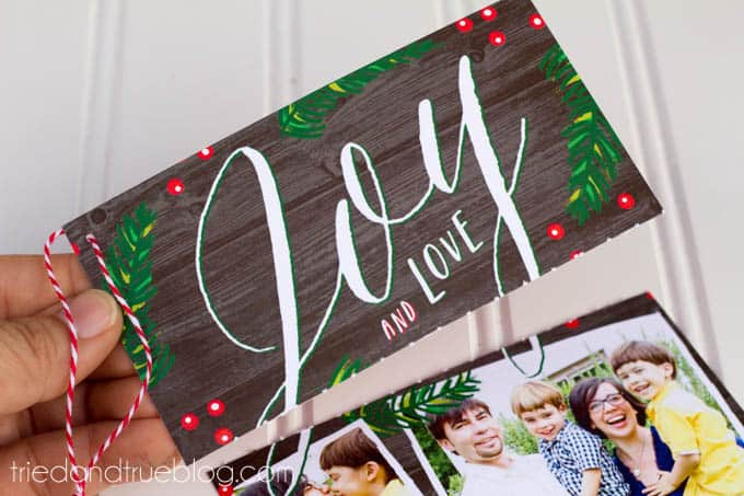 Reusable Holiday Cards - Reuse