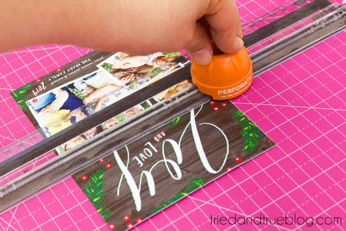 Reusable Holiday Cards - Perferate
