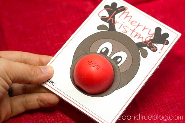 Rudolph Easy Christmas Gift - Insert