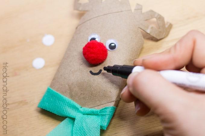 Rudolph Gift Card Holder - Add face