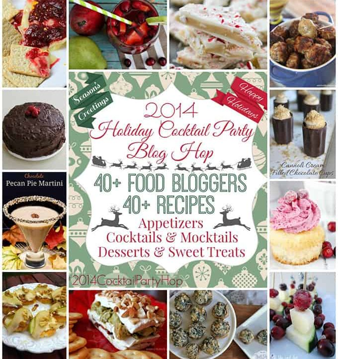 40+ Holiday Cocktail Party Recipes - Everything you need to throw a fabulous holiday party!
