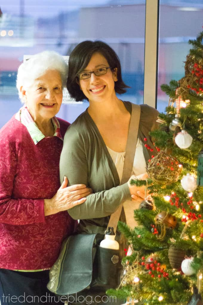 """""""All Hearts Go Home"""" Christmas Tree Decorations - Me and my grandmother"""