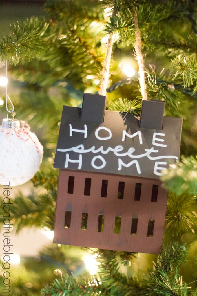 """""""All Hearts Go Home"""" Christmas Tree Decorations - Home Sweet Home"""