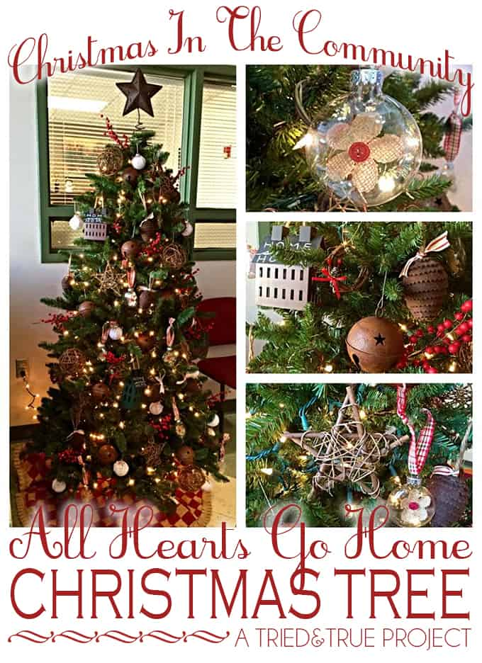 """""""All Hearts Go Home"""" Christmas Tree Decorations - Christmas in the Community"""