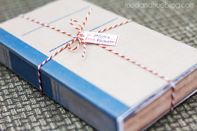 Antique Book DIY Gift Box - Ready to gift!