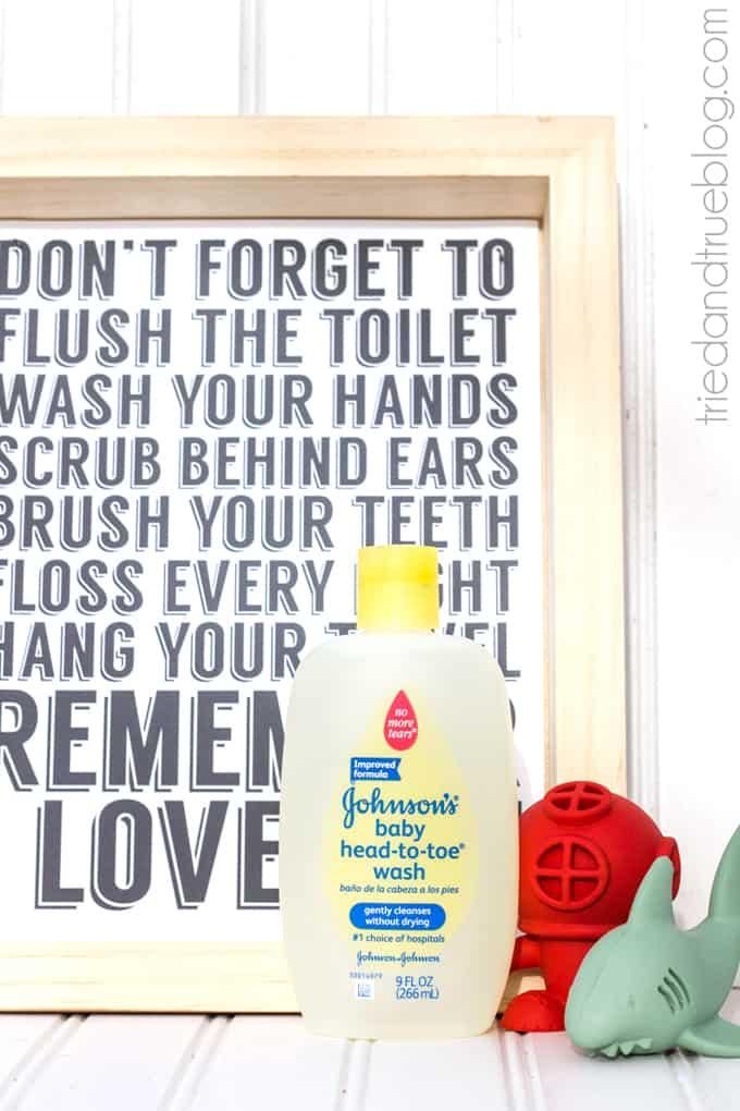 """Remember I Love You"" Free Bathroom Art - Bath Time!"