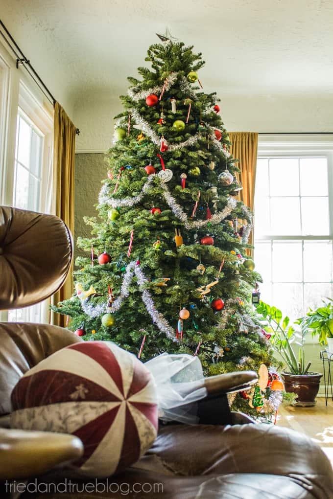 A Very Boyish Christmas Home Tour - Tree
