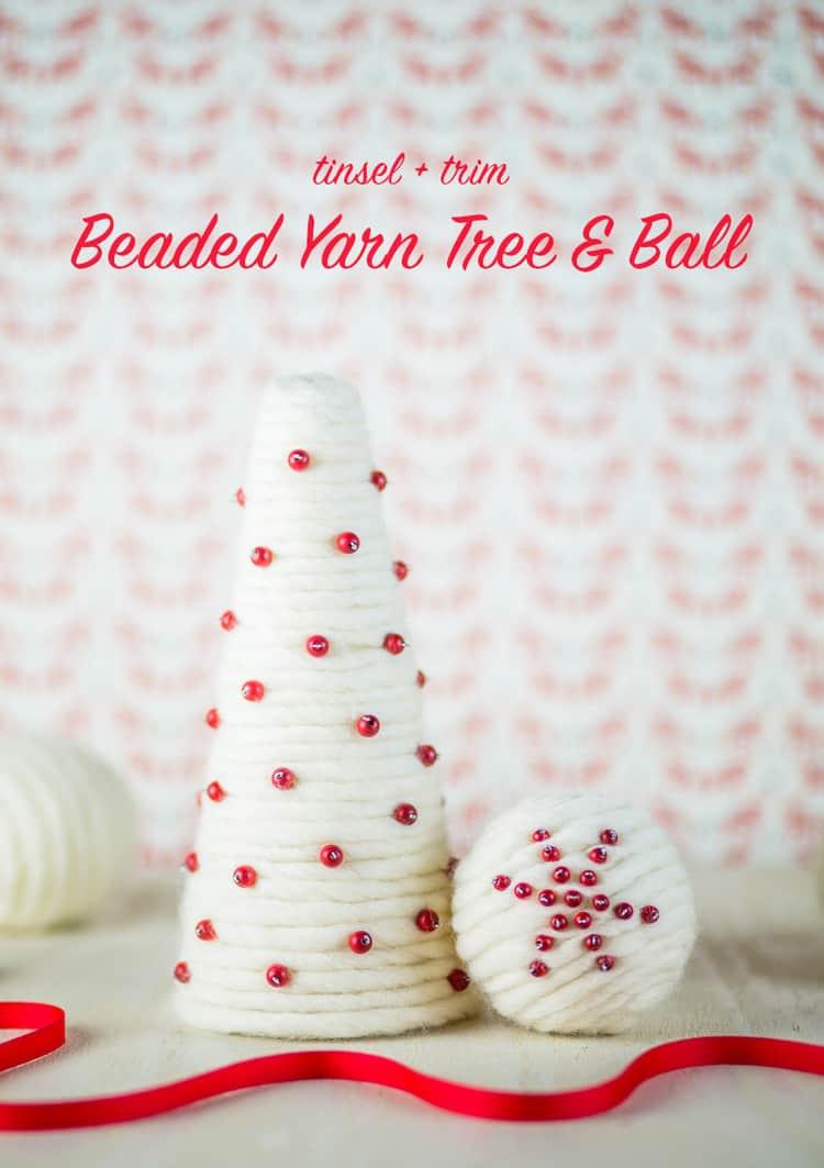 beaded-yarn-tree-and-ball-1