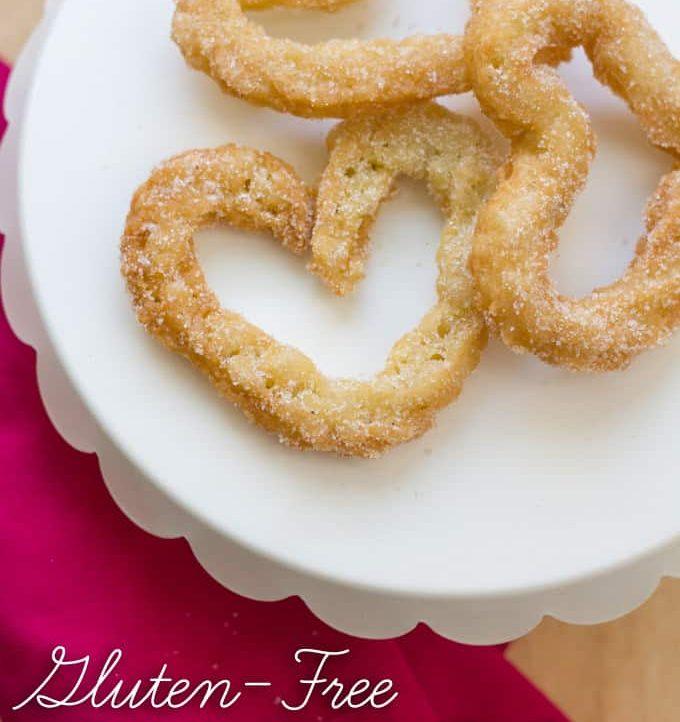 Make these Gluten Free Churros for a super sweet Valentine's Day treat! triedandtrueblog.com
