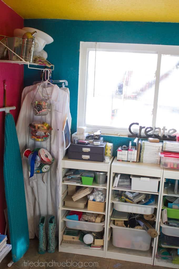 Teeny Tiny Craft Room Part 2 - Before