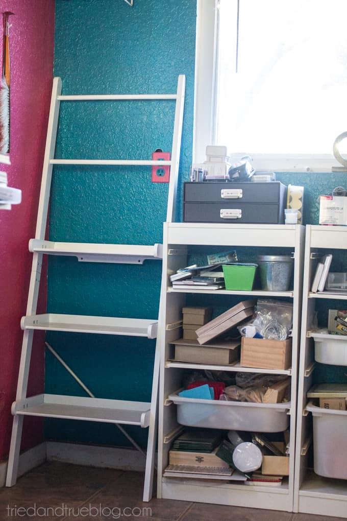 Teeny Tiny Craft Room Part 2 - Shelves