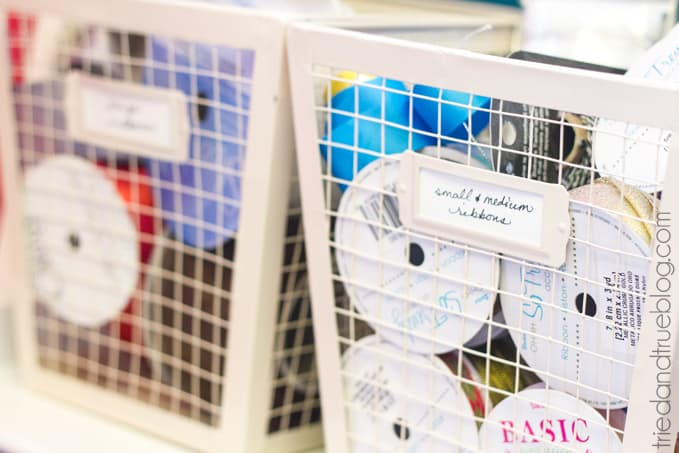 Teeny Tiny Craft Room Part 2 - Baskets