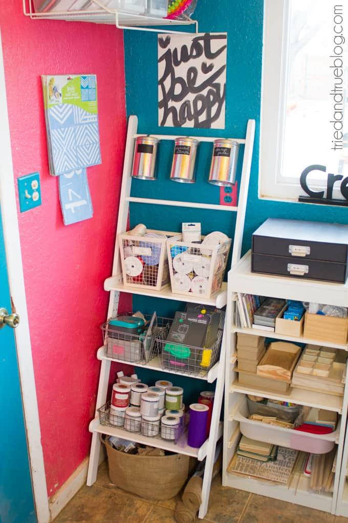 Teeny Tiny Craft Room Part 2 - Corner