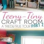 Teeny-Tiny Craft Room Part 2