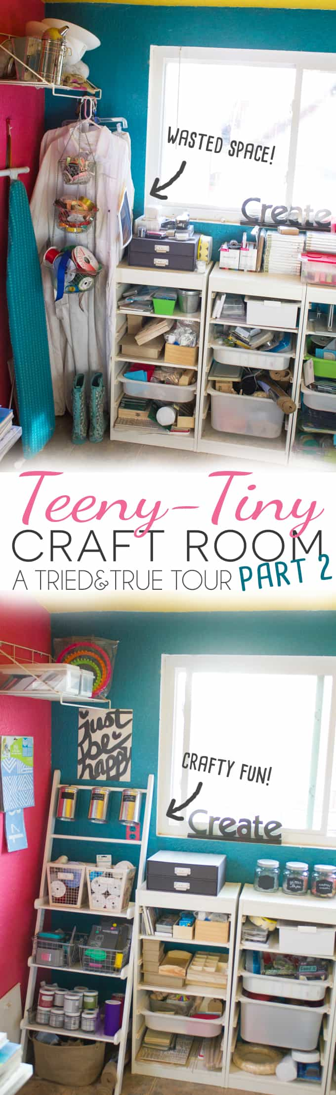 Check out the update to Tried & True's Teeny Tiny Craft Room!