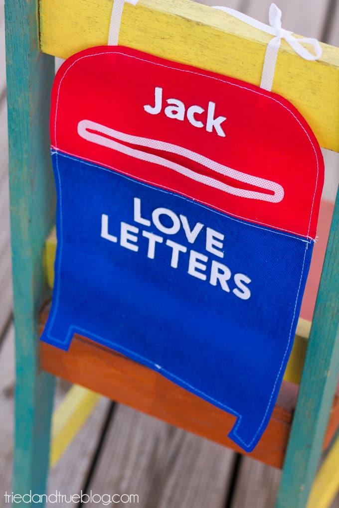 Valentine's Day Mailbox Free Pattern - Attached