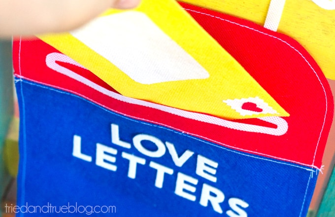 Valentine's Day Mailbox Free Pattern - Fill