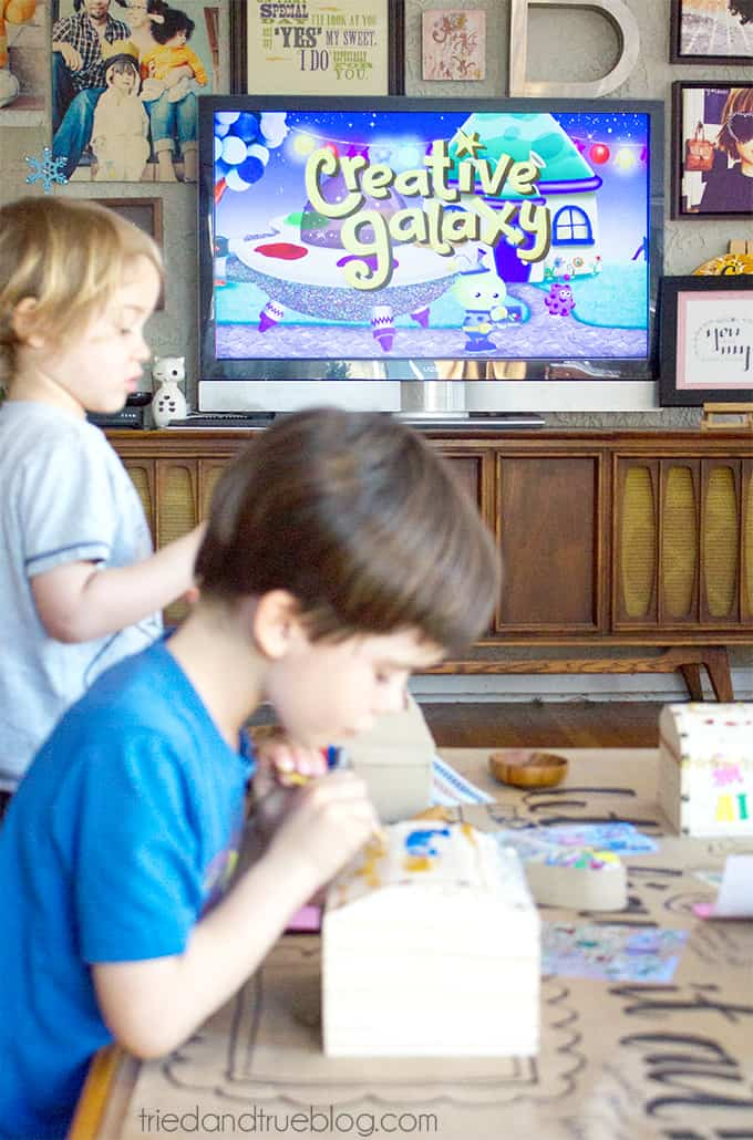 Planning An After School Craft Party - Creative Galaxy