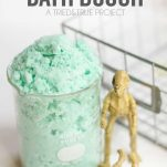 Make bath time fun with this Fizzing Bath Dough made with just three simple ingredients!   triedandtrueblog.com