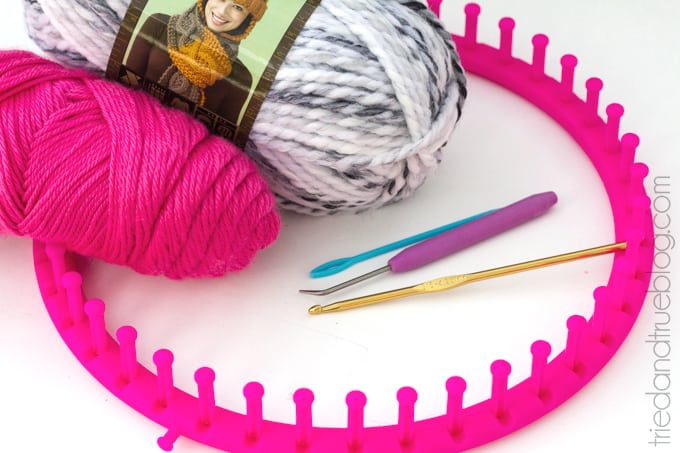 Knitting Loom Neck Warmer - Supplies