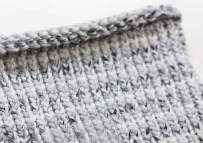 Knitting Loom Neck Warmer - Knitting