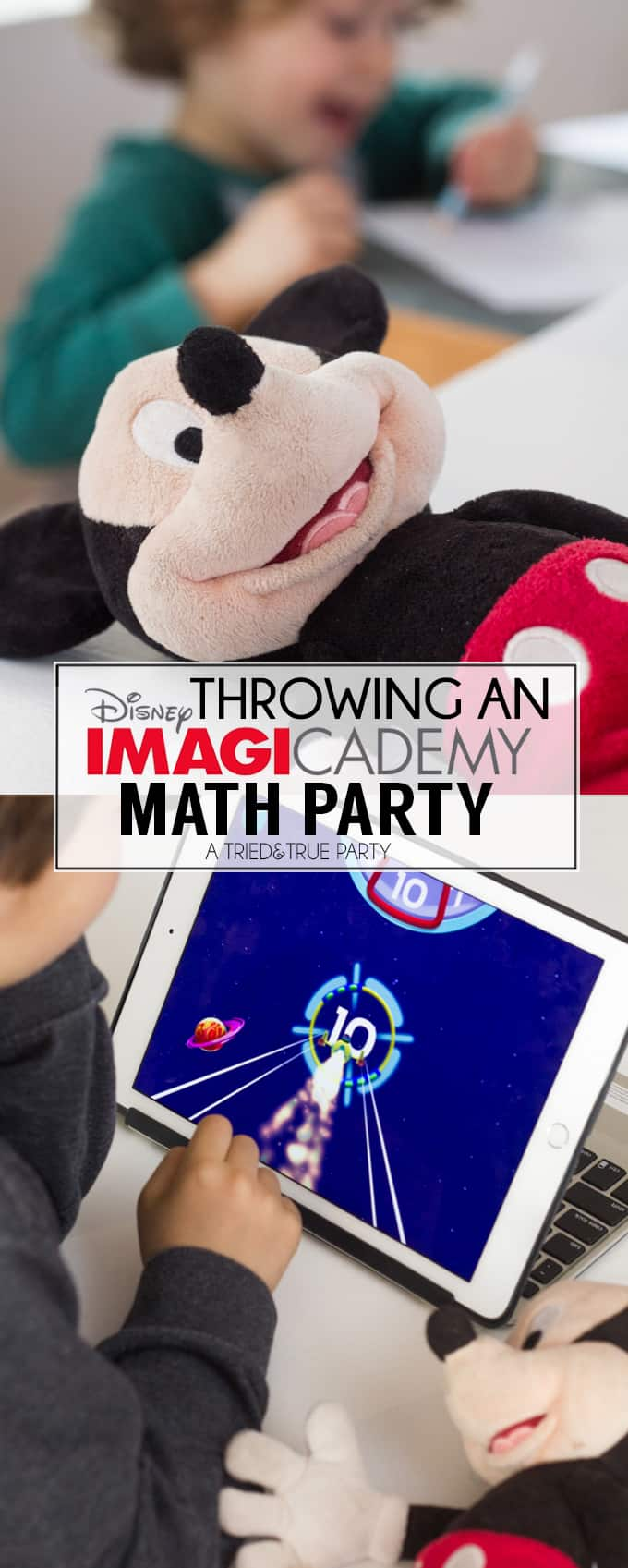 Throwing An Imagicademy Math Party - Tons of fun ideas for adding basic math concepts to parties!
