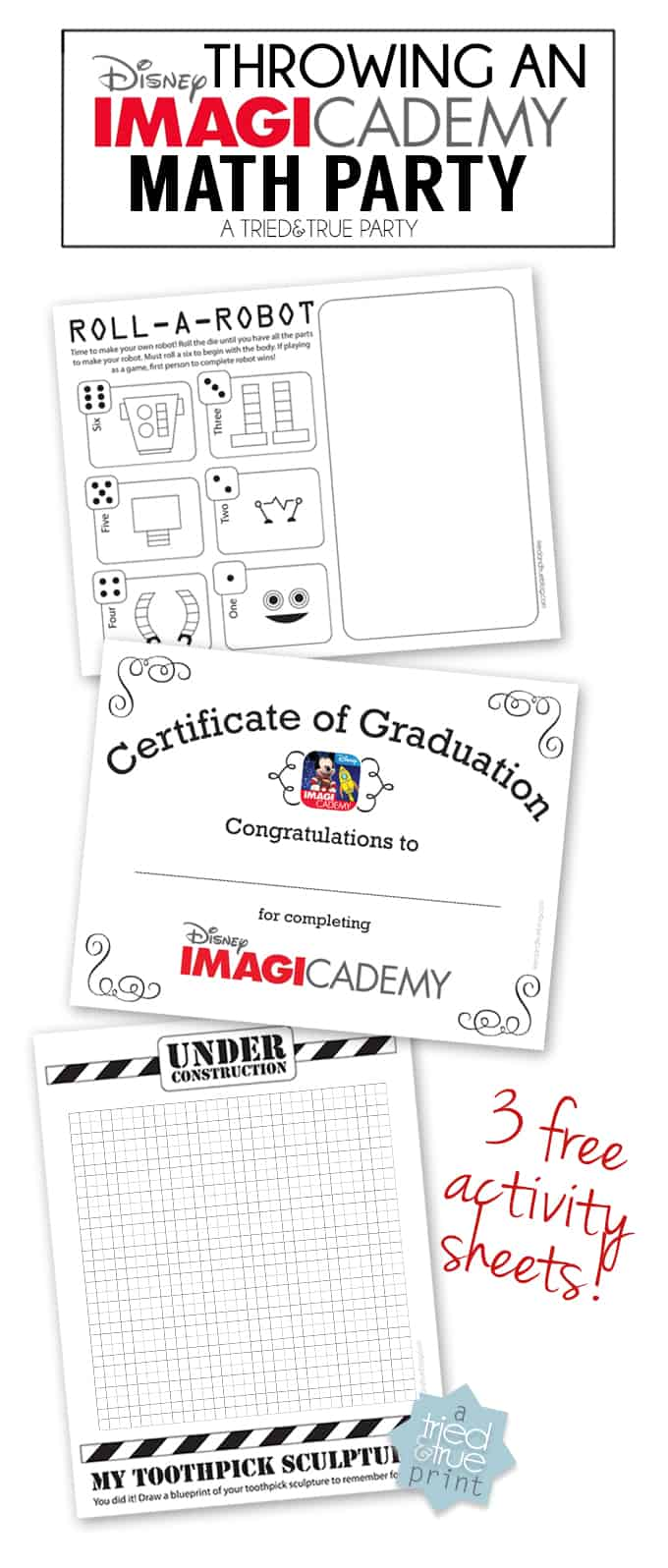 Throwing An Imagicademy Math Party - Free Printables