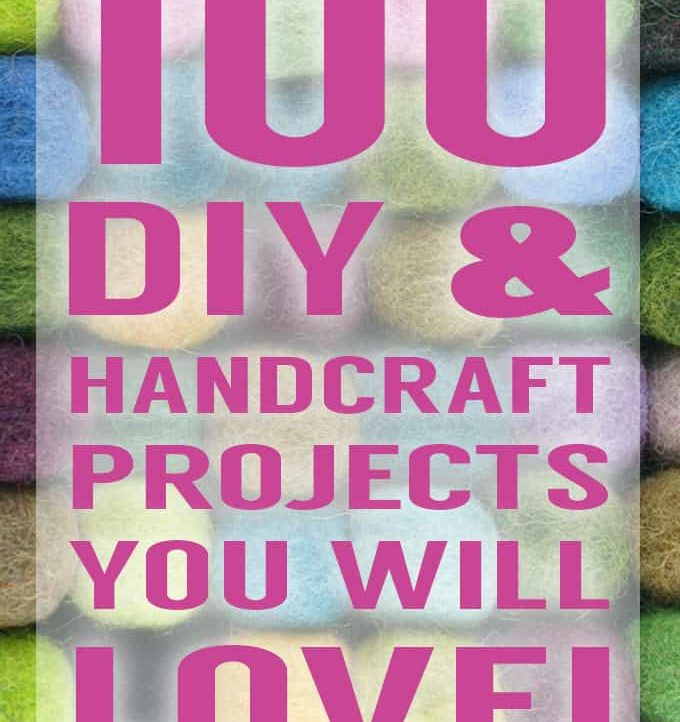 100 DIY & Handcraft Projects You Will Love! Brought to you by the All Things Creative Collective