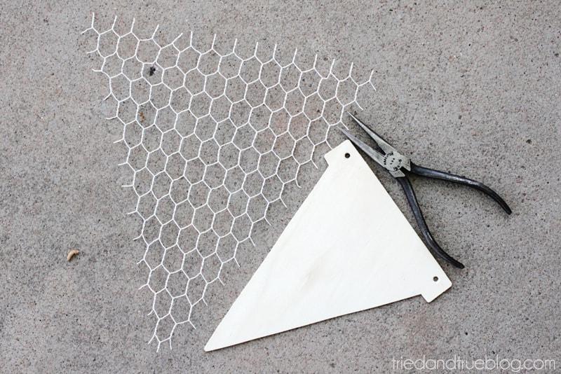 DIY Floral Wall Sconces - Materials