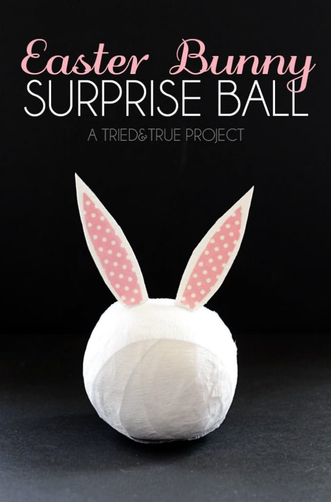 These Easter Bunny Surprise Ball are a super fun way to present a bunch of knick-knacks!