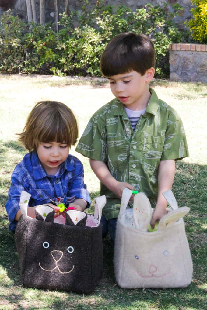 Recycled Easter Basket - Boys