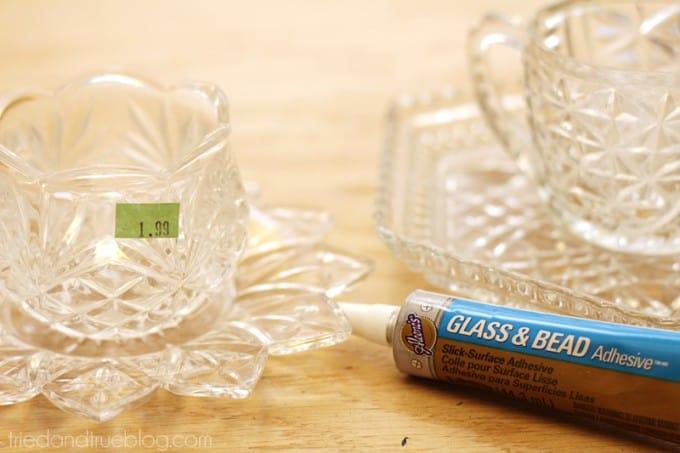 Easy Recycled Bird Feeder - Glue